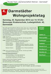 Plakat 4.Wohnprojektetag